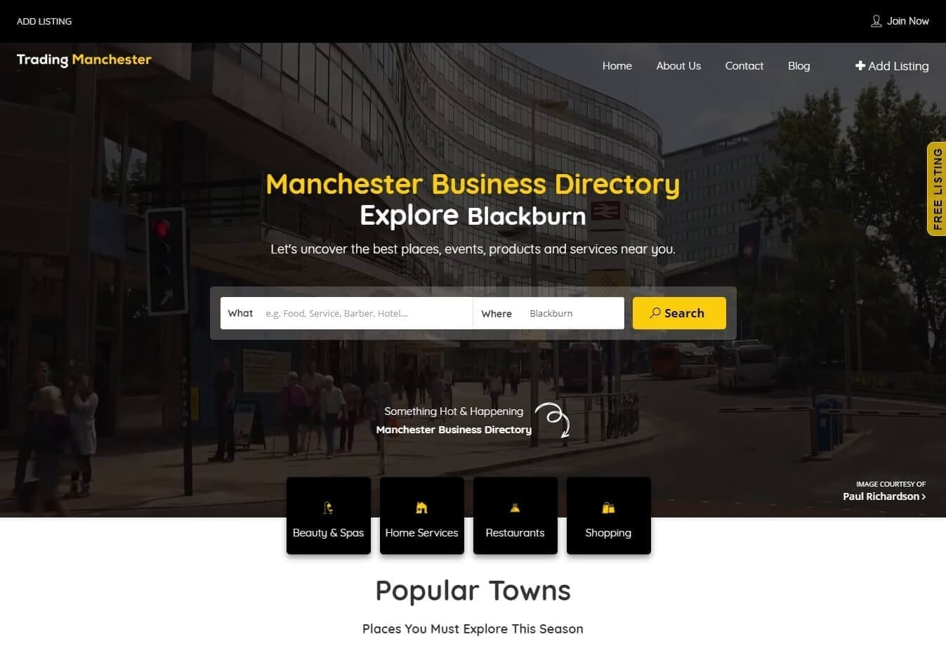 Business Directories in Manchester - Website Design